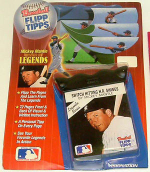 Mickey Mantle New York Yankees Flip Book see cool video , Baseball-MLB - n/a, Final Score Products