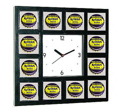 New Nu Grape Soda Sign Clock with 12 pictures , Other - n/a, Final Score Products