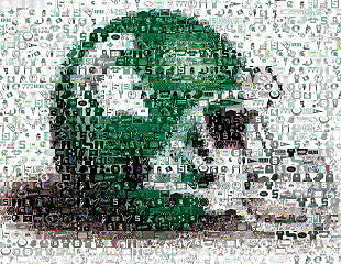 Amazing Michigan State Spartans football helmet Montage