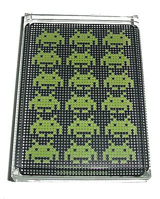 Space Invaders Video Game Acrylic Executive Display Piece or Desk Paperweight