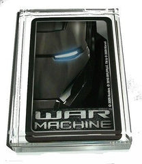 Acrylic War Machine Iron Man Executive Desk Top Paperweight , Other - n/a, Final Score Products