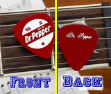Dr. Pepper Classic Soda Pop 10 4 2 ad Guitar Pick , Dr Pepper - Dr. Pepper, Final Score Products