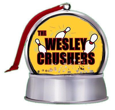 NEW The Big Bang Theory Wesley Crushers SnowGlobe Magnet Holiday Tree Ornament , Other - n/a, Final Score Products