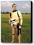 Framed Star Wars Stormtrooper Mitt Romney 9X11 inch Limited Edition Art Print , Presidential Candidates - n/a, Final Score Products