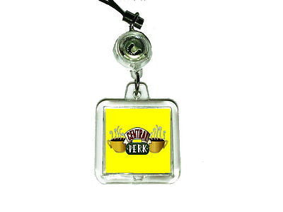 Friends TV Show Central Perk Cell Phone Blinking Flashing Charm , Straps & Charms - n/a, Final Score Products