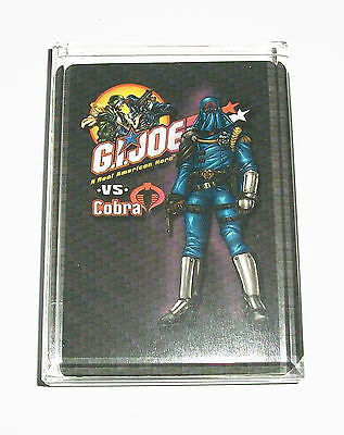 G.I. GI Joe vs Cobra Acrylic Executive Display Piece or Desk Top Paperweight , Other - n/a, Final Score Products