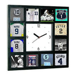 New York NY Yankees Greatest Jersey Clock 12 pictures of HOF players , Baseball-MLB - n/a, Final Score Products
