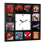History of Spider-Man TV Show Comics Movies Clock with 12 pictures , Spider-Man - n/a, Final Score Products