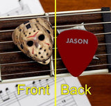 Set of 3 Jason Voorhees Mask Friday the 13th premium Promo Guitar Pick Pic , Other - n/a, Final Score Products