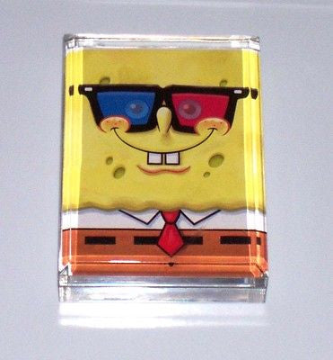 Acrylc Spongebob Squarepants Executive Desk Paperweight