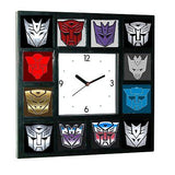 History of Transformers Decepticon and Autobot Clock with 12 pictures , Transformers & Robots - n/a, Final Score Products