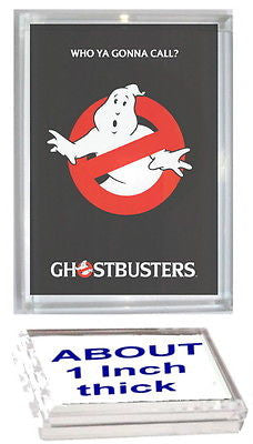 Ghostbusters Acrylic Executive Display Piece or Desk Top Paperweight , Other - n/a, Final Score Products