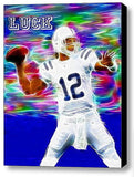 Indianapolis Colts Andrew Luck Framed 9X11 inch Limited Edition Art Print w/COA , Football-NFL - n/a, Final Score Products