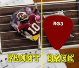 Washington Redskins Robert Griffin III RG3 Promo Premium Guitar Pic Pick , Football-NFL - n/a, Final Score Products