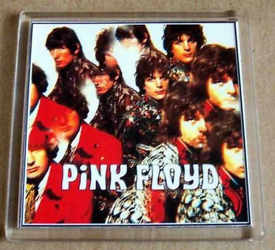 Pink Floyd First Album Coaster 4 X 4 inches