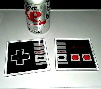 Nintendo regular original NES Controller Coaster 4 X 4 set , Video Game Memorabilia - n/a, Final Score Products