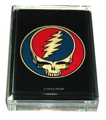 Grateful Dead Acrylic Executive Desk Top Paperweight