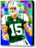 Framed New York Jets Tim Tebow 9X11 inch Limited Edition Art Print w/COA , Football-NFL - n/a, Final Score Products
