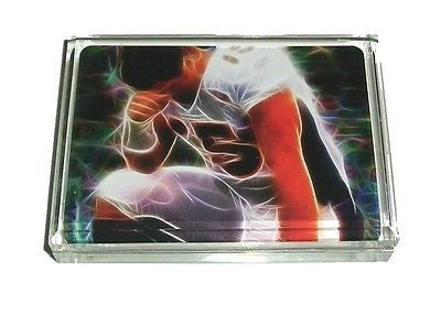 Denver Broncos Tim Tebow Tebowing landscape Acrylic Executive Desk Paperweight , Football-NFL - n/a, Final Score Products