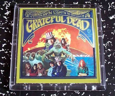 The Grateful Dead first album Coaster 4 X 4 inches , Novelties - n/a, Final Score Products