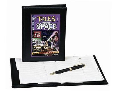 Back To The Future prop Tales From Space Leatherette forever notebook , Other - n/a, Final Score Products