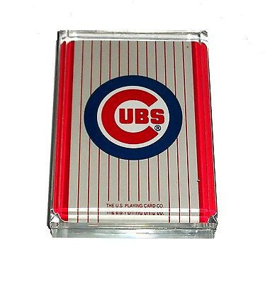 Chicago Cubs Acrylic Executive Desk Top Paperweight , Baseball-MLB - n/a, Final Score Products