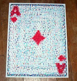 Amazing Ace of Diamonds POKER WSOP Montage Limited COA , Other - n/a, Final Score Products