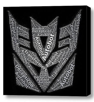 Transformers Decepticon Mosaic INCREDIBLE Framed 8X8 Limited Edition Art w/COA , Other - n/a, Final Score Products