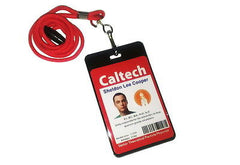 Best  two sided The Big Bang Theory Sheldon Cooper ID Halloween Costume prop , Reproductions - n/a, Final Score Products