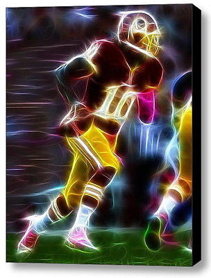 Framed Washington Redskins RG3 Robert Griffin III 9X11 Limited Edition Art Print , Football-NFL - n/a, Final Score Products