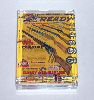 Daisy Red Ryder Carbine Air Rifle Executive Paperweight , Cowboy, Western - n/a, Final Score Products