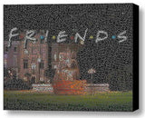 Friends TV Show Characters Word Mosaic neat Framed 9X11 Limited Edition Art wCOA , Other - n/a, Final Score Products