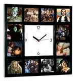 Wizard of Oz Square Clock with 12 pictures Dorothy Wicked Witch Scarecrow Glinda , Watches & Clocks - n/a, Final Score Products