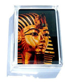 Acrylic Ancient Egypt King Tut Sarcophagus Executive Desk Top Paperweight , Egyptian - n/a, Final Score Products