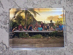ABC tv show LOST Acrylic Executive Desk Top Paperweight , Other - n/a, Final Score Products