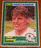 Amazing Dallas Cowboys Troy Aikman Rookie Card Montage , Football-NFL - n/a, Final Score Products