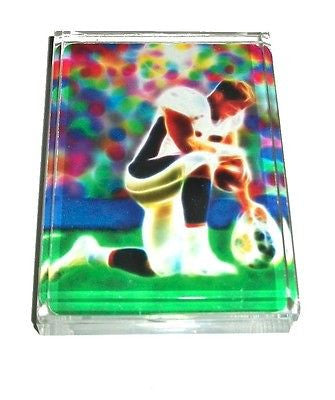 Denver Broncos Tim Tebow Tebowing portrait Acrylic Executive Desk Paperweight , Football-NFL - n/a, Final Score Products