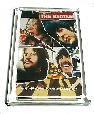The Beatles style 2 Acrylic Executive Display Piece or Desk Top Paperweight