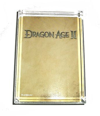 BioWare Dragon Age II Video Game Acrylic Executive Display Piece or Paperweight , Other - n/a, Final Score Products