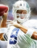 wisp Dallas Cowboys Tony Romo pop art #ed to 25 w/COA , Football-NFL - n/a, Final Score Products