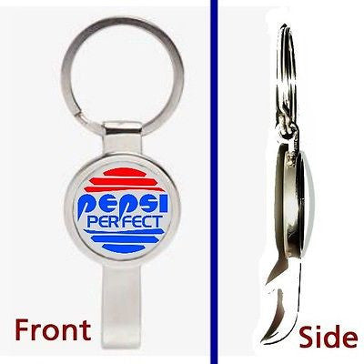 Back To The Future 3 Pepsi Perfect Cola Pendant or Keychain secret bottle opener