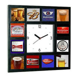 History of Budweiser beer with 3d 1/1 images Clock with 12 pictures , Other - n/a, Final Score Products