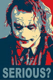 19X13 BATMAN Heath Ledger JOKER poster art print RARE , 2000-Now - n/a, Final Score Products