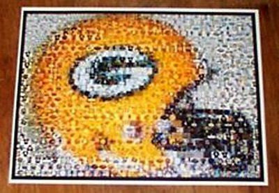 AMAZING Green Bay Packers Helmet Montage. WOW!!! , Football-NFL - n/a, Final Score Products