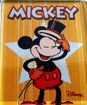 Official Mickey Mouse with Top hat Fridge Magnet big 2.5 X 3.5 inches , Other - n/a, Final Score Products