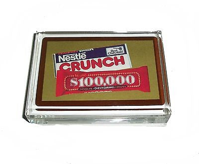 Acrylic Nestle Crunch, $100,000 candy bar Paperweight , Merchandise & Memorabilia - n/a, Final Score Products
