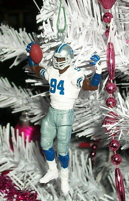 Dallas Cowboys DeMarcus Ware Christmas Holiday Tree Ornament rear view mirror