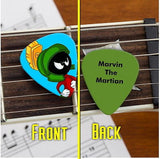 Set of 3 Marvin The Martian premium Promo Guitar Pick Pic , Marvin the Martian - n/a, Final Score Products