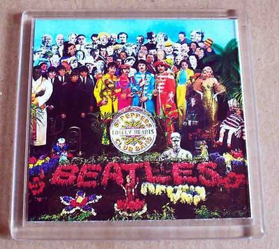 The Beatles Sgt. Peppers Lonely Hearts Club Band Coaster 4 X 4 inches , Novelties - n/a, Final Score Products