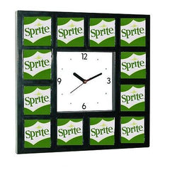 Sprite Drink Pop around the Clock sign with 12 pictures , Other - n/a, Final Score Products